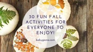 Fall Activities fore everyone