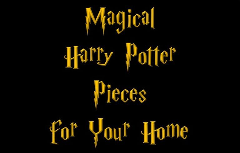 Magical Harry Potter Pieces for Your Home