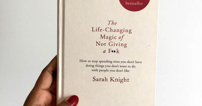 "Book Review: ""The Life-Changing Magic of Not Giving a F*ck"""