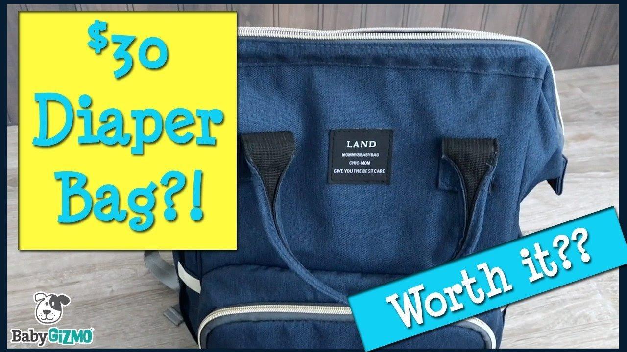 Land Diaper Bag Backpack Review