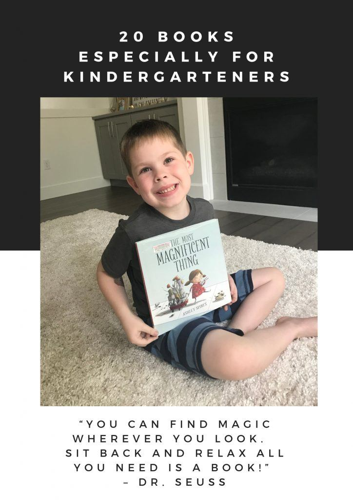 20 Books Especially For Kindergarteners