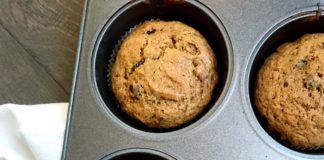 Jumbo Pumpkin Chocolate Chip Muffins