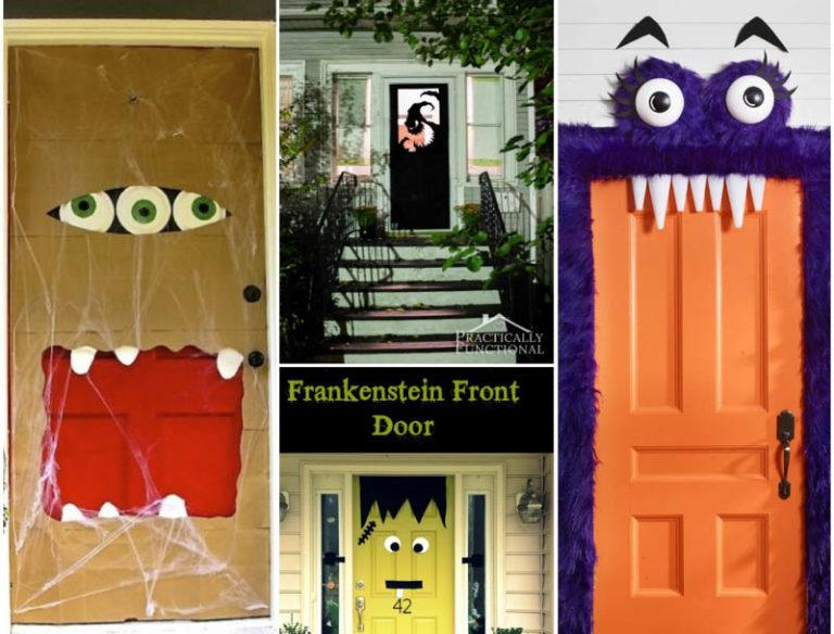 Fun and Spooky Halloween Door Decoration Ideas