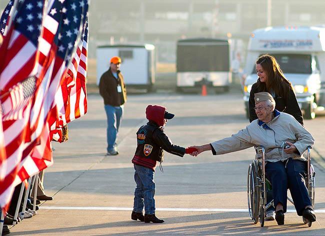 veterans day kid