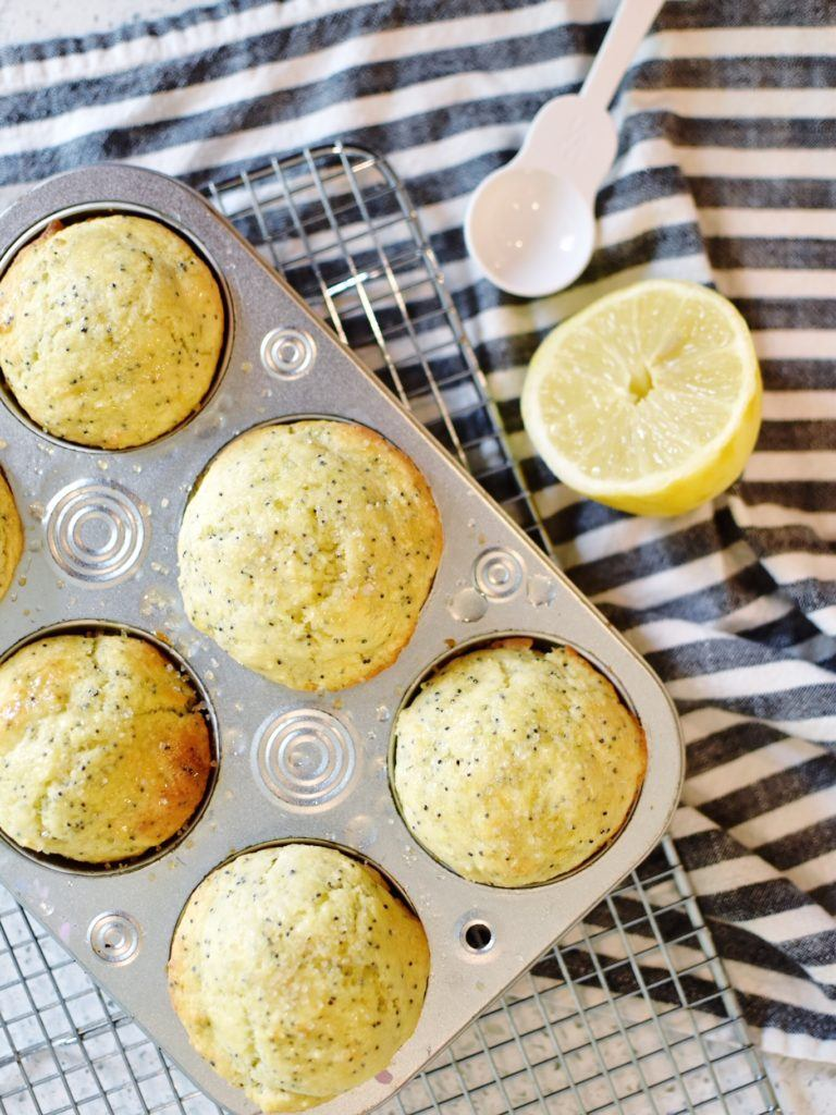 Lemon Poppyseed Muffins Recipe