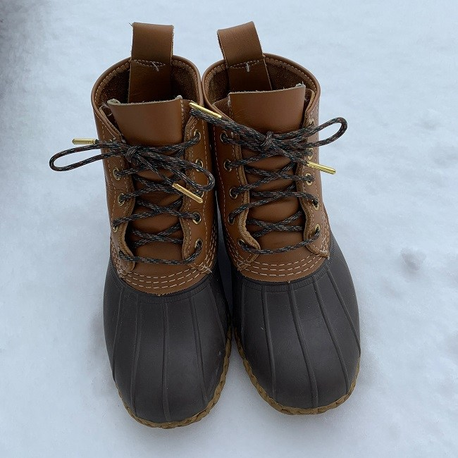 bean boot laces