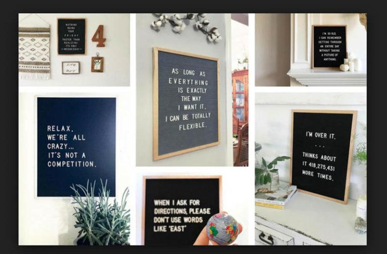 Own A Letter Board? The Best 20 Letter Board Quotes