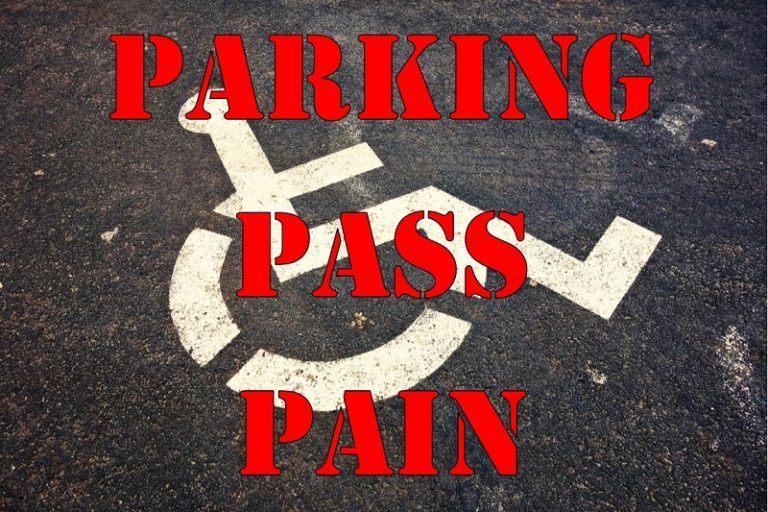 Parking Pass Pain