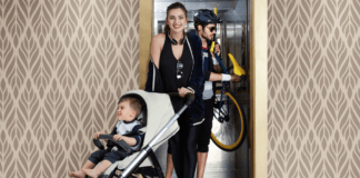 Inglesina Aptica Stroller Review (and Giveaway)