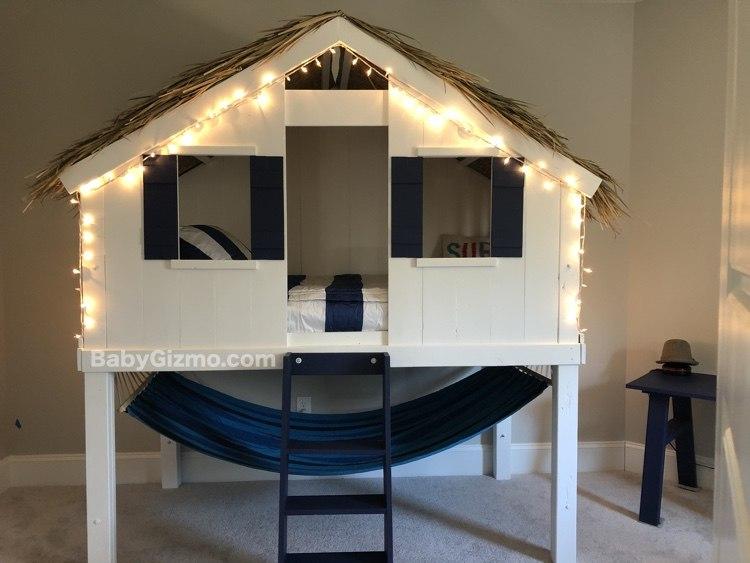 DIY Loft Bed with Beddys
