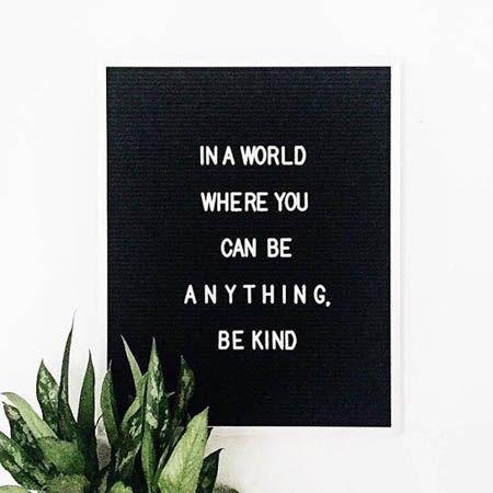 letterboard be kind