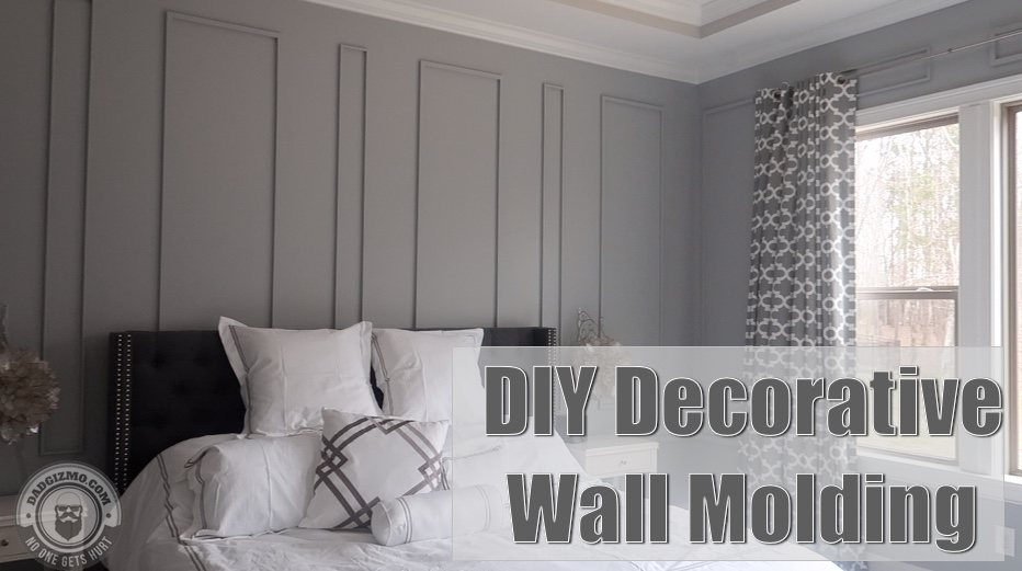 DIY Decorative Wall Molding to Your House | House Tour Sneak Peek