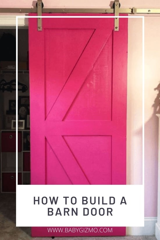 How to Build a DIY Barn Door | DAD HACK
