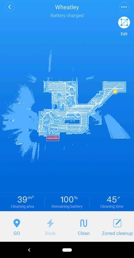 roborock mapping