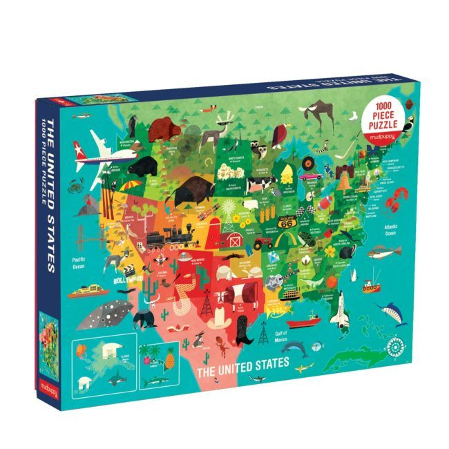 USA Puzzle for Kids and Adults