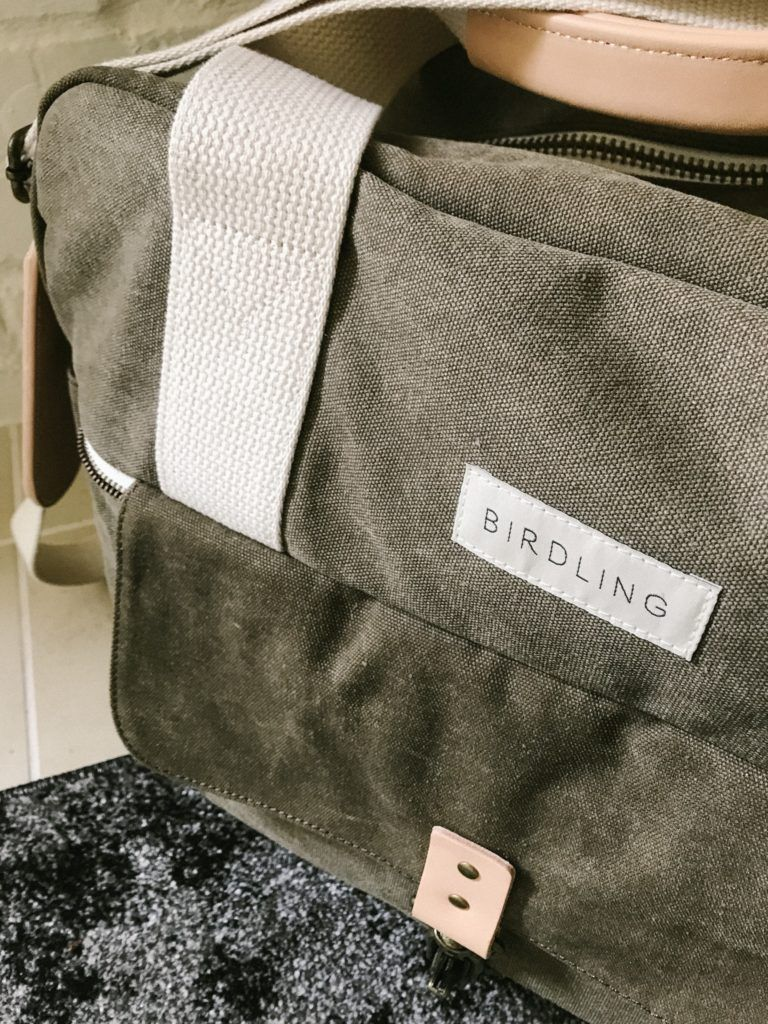 Meet the Birdling Weekender Bag