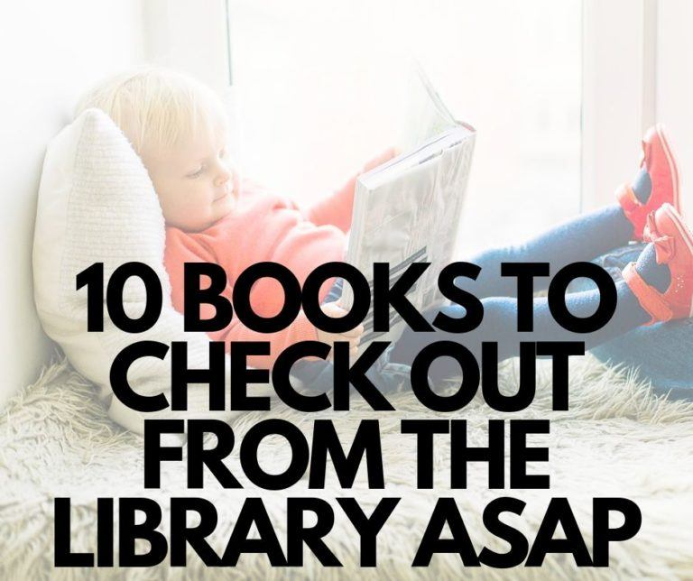 10 Books To Check Out From the Library ASAP
