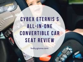Cybex Eternis S Convertible Car Seat Review