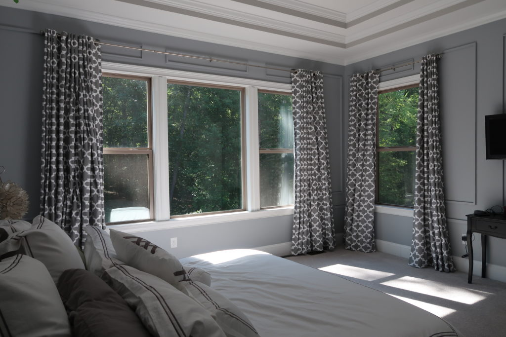 Master Bedroom Window Coverings