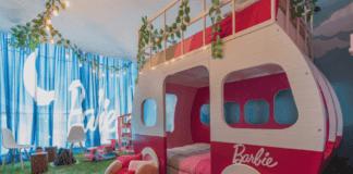 Barbie Dream Camper Room