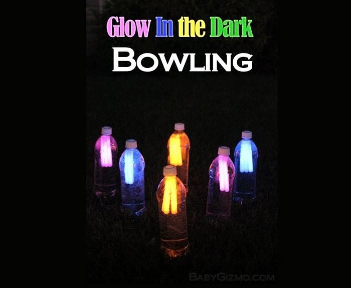 Glow in the Dark Night Time Bowling
