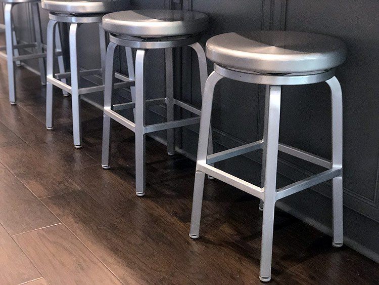 Crate and Barrel Kitchen Stools