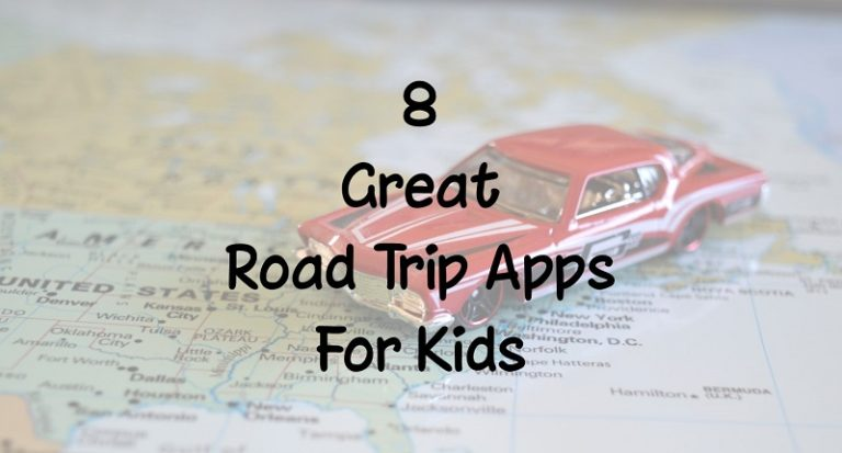 8 Great Road Trip Apps for Kids