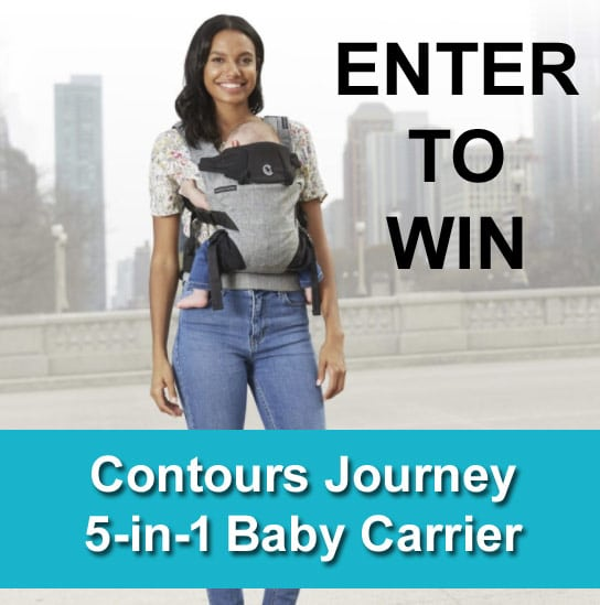 GIVEAWAY: Contours Journey 5-in-1 Baby Carrier