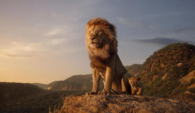 The Lion King: Mufasa and Simba