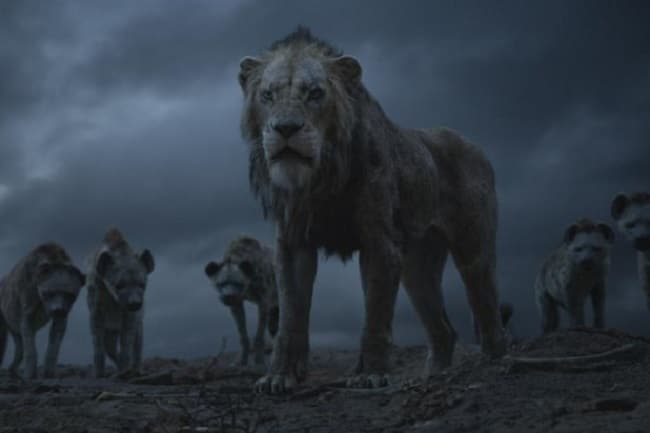 The Lion King: Scar and the hyenas