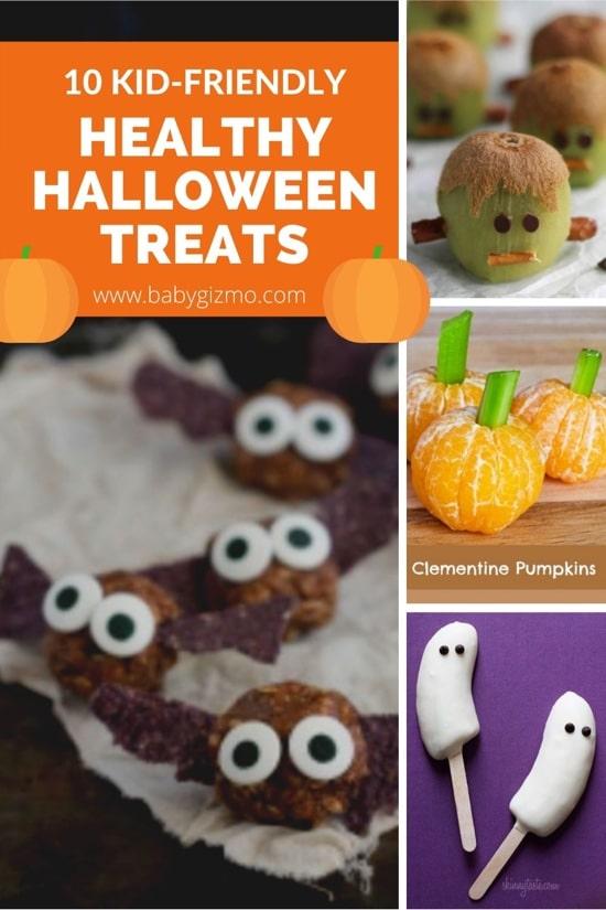 10 Kid-Friendly Healthy Halloween Treats