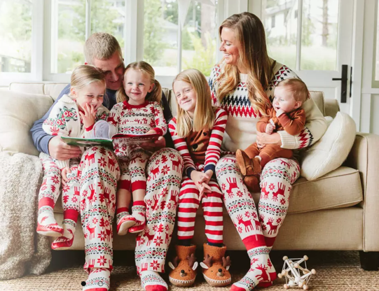 The Cutest Holiday Pajamas for the Family
