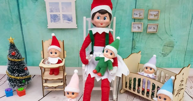 Your Creepy Elf on the Shelf Can Have Creepy Babies