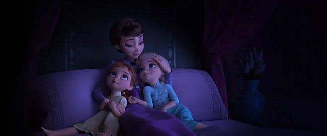 Frozen II: Anna, Queen Iduna, Elsa