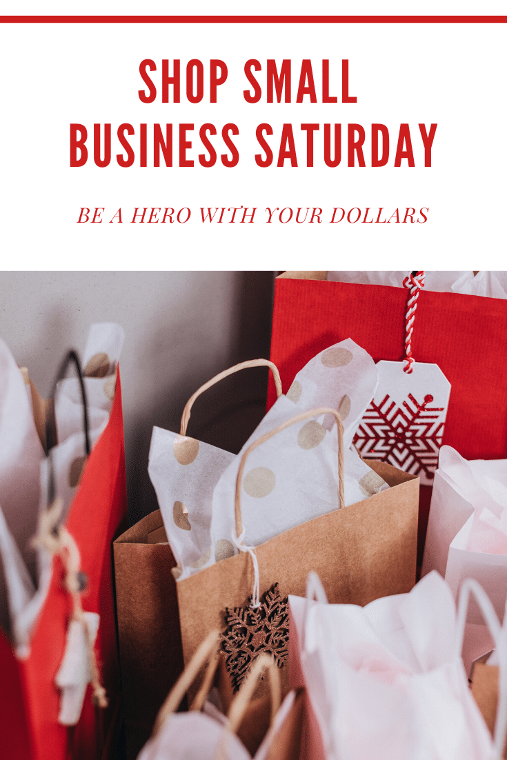 Be a Hero With Your Dollars On Shop Small Business Saturday