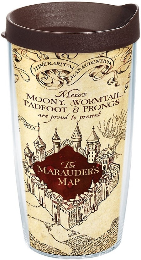 harry potter marauder's map tervis tumbler
