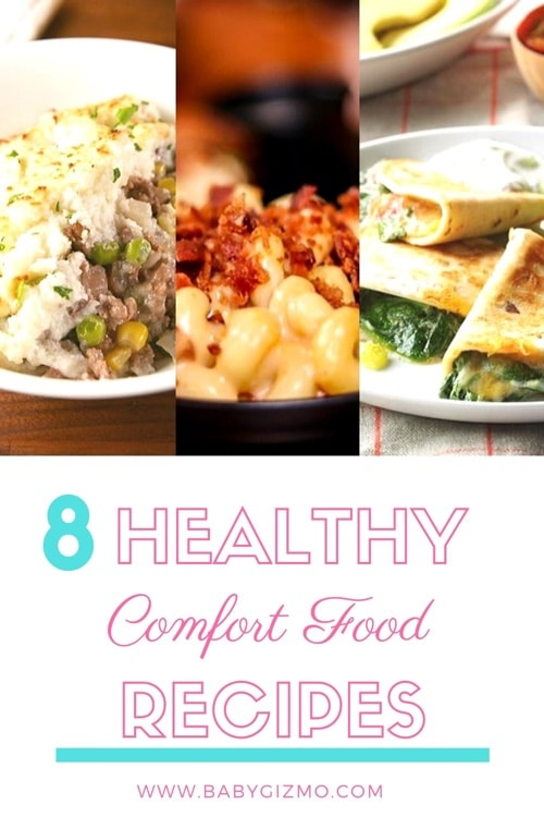 8 Healthy Comfort Food Recipes