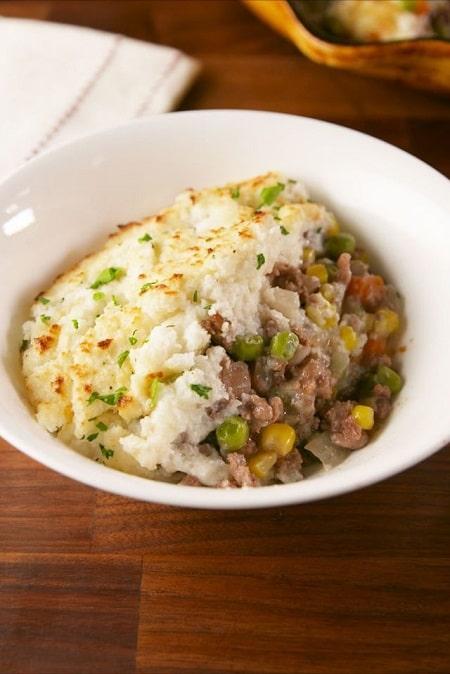 comfort food: cauli shepherd's pie