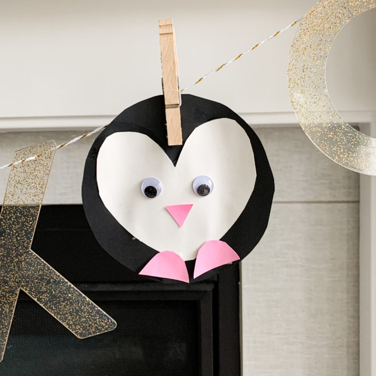 Penguin Valentine's Day Craft