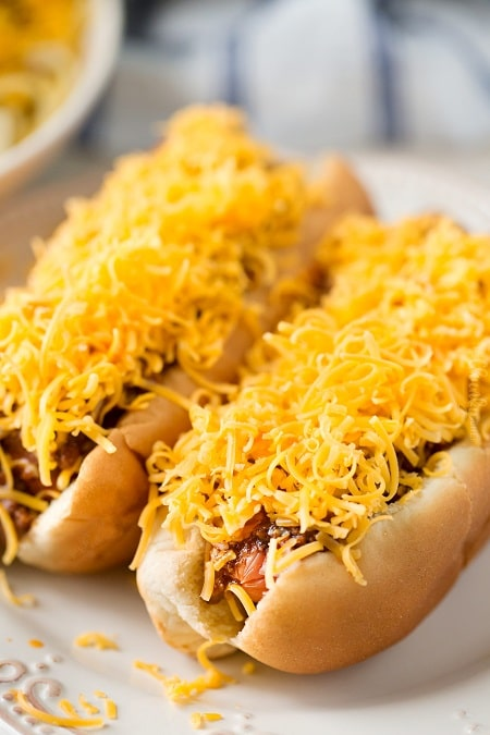 coneys with cincinnati-style chili