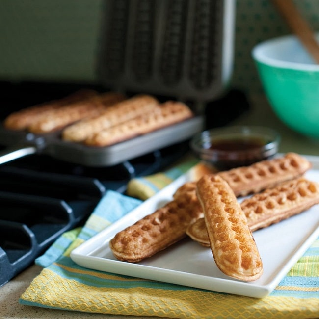 Waffle Dippers Pan