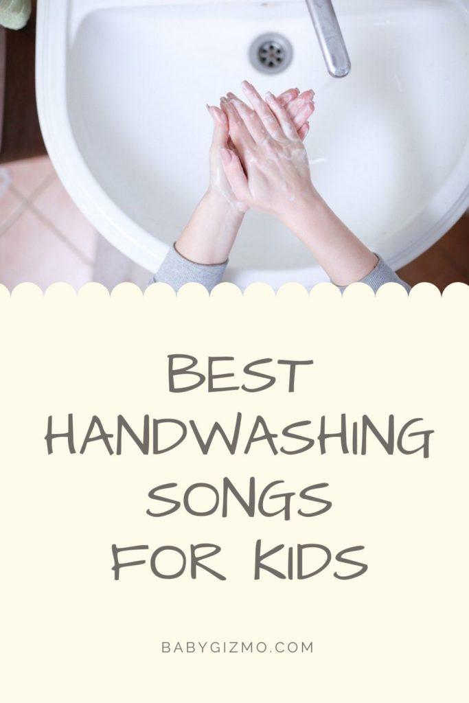 handwashing in a sink