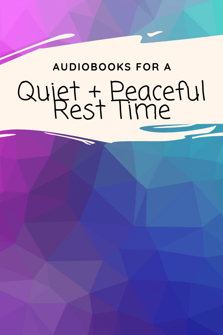 15 Audiobooks For a Quiet and Peaceful Rest Time