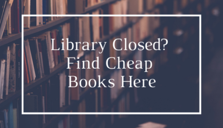 Library Closed? Find Cheap Books Here