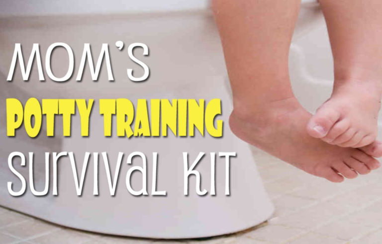 Mom's Potty Training Survival Kit