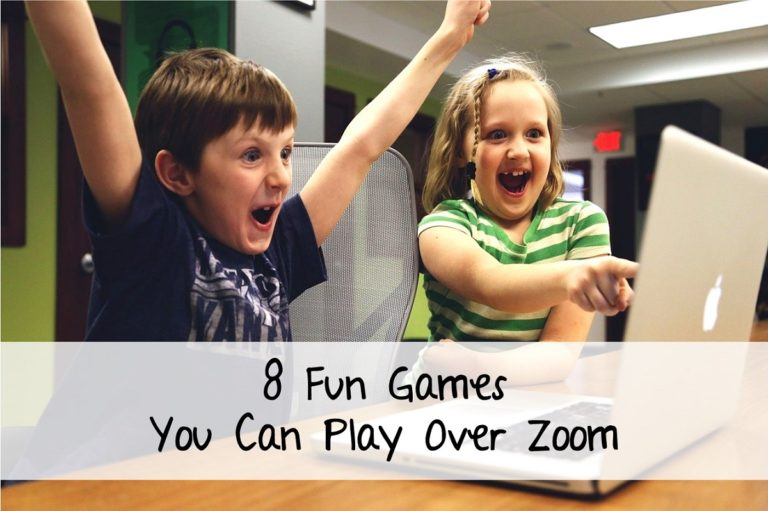 8 Fun Games You Can Play Over Zoom