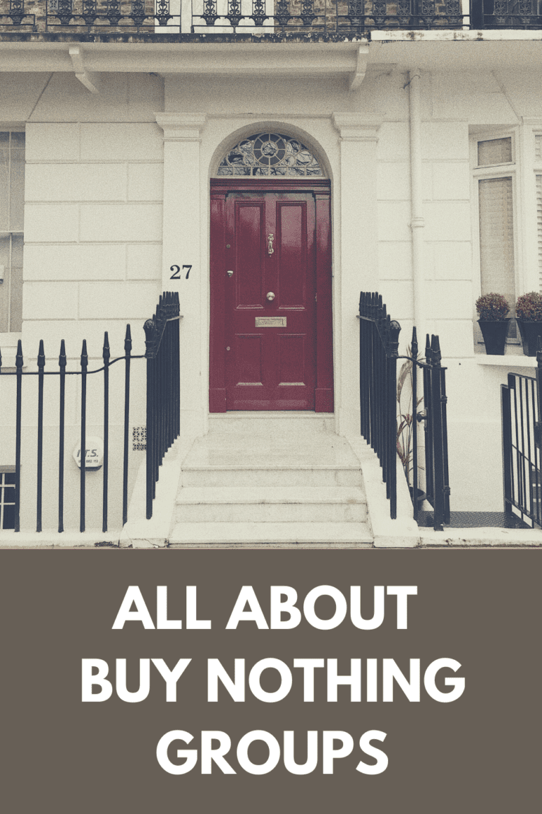Are You Part of Your Local Buy Nothing Group?