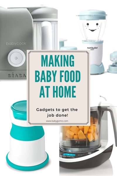 Making Baby Food at Home: Gadgets That Get The Job Done