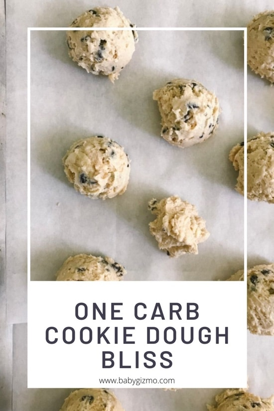 One Carb Cookie Dough Bites