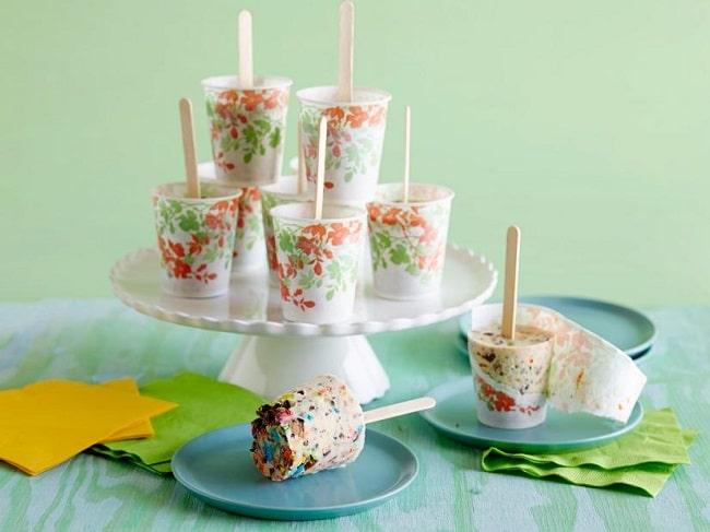 Ice Cream Freezer Pops